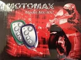alarma para  moto motomax alta calidad antiescaner