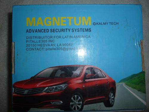 alarma para vehiculo magnetum