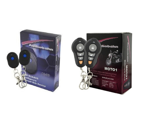alarma presencia e inmovilizador para moto o auto audiobahm