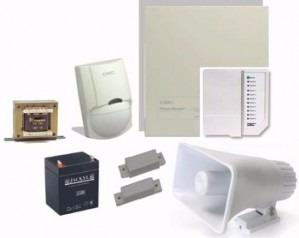 alarma residencial o comercial en kit basico