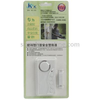 alarma seguridad puerta entrada codigo secreto magnetico