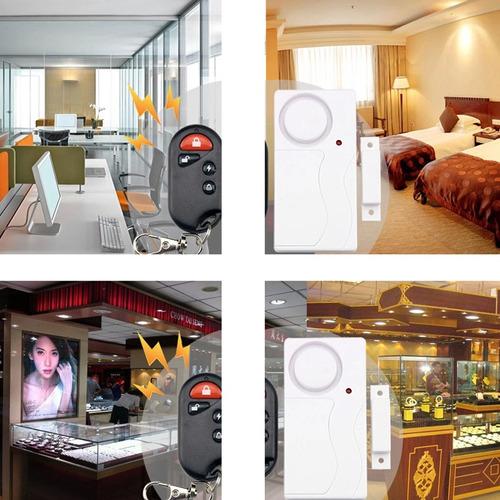 alarma seguridad puerta entrada fk-9806 casa inteligente