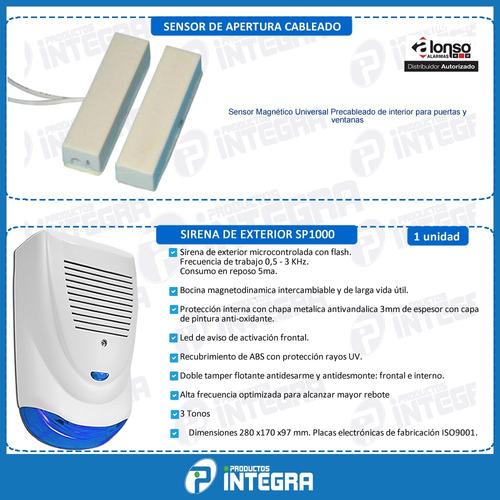 alarma sensor kit