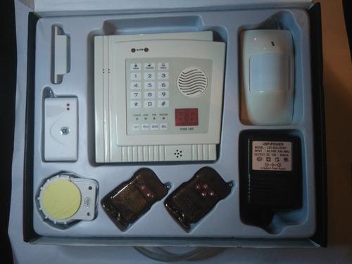 alarma telefonica fija  zonas inalambricas casa oficina 30vr