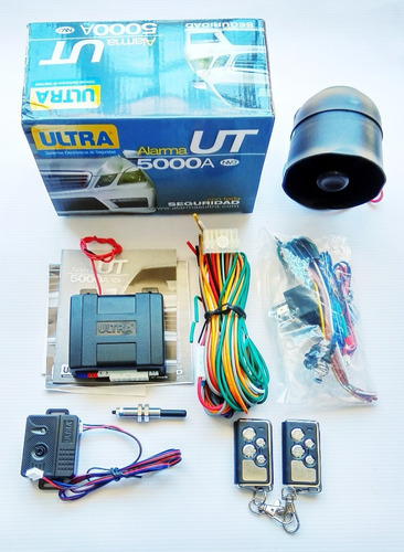 alarma ultra ut5000a nv 24 voltios controles metálicos