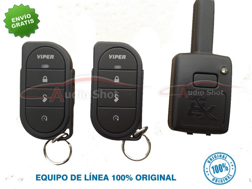 alarma viper 3106v + 2 seguros electicos
