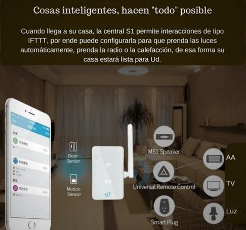 alarma wifi inalambrica broadlink domotica 1 sensor