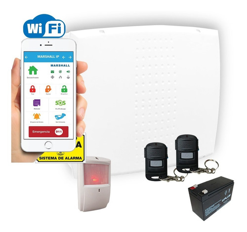 alarma wifi marshall