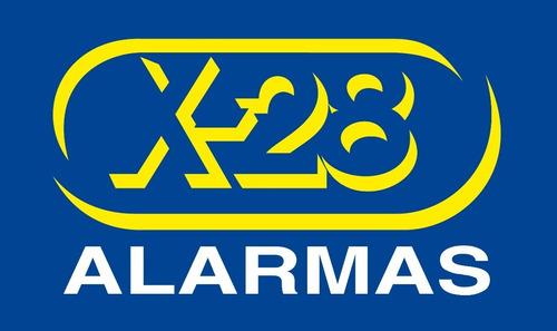 alarma x-28 kl20 rs-volumétrica-presen(sirena)