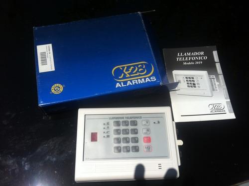 alarma x 28 llamador telefonico 2019