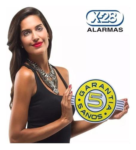 alarma x-28 z10 volumetrico 2 controles instalada!!