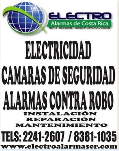 alarmas ,cámaras de seguridad y cercas electricas