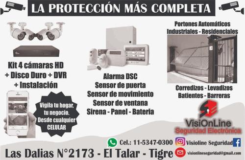 alarmas cámaras seguridad