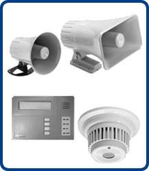 alarmas contraincendios, detectores de humo, pulsador alarma