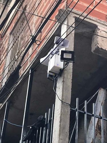 alarmas, domiciliarias y vecinales, y camaras de seguridad.
