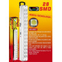 Luz De Emergencia Rectangular Opalux 28 Leds Hb-890t