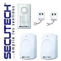 Alarma Secutech 2 Zonas Alst-02z 2 Sensores 2 Controles