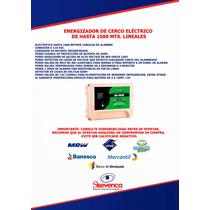 Energizador De Cerco Electro De Hasta 1500 Mts. Lineales