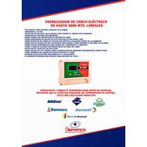 Energizador De Cerco Electro De Hasta 6000 Mts. Lineales