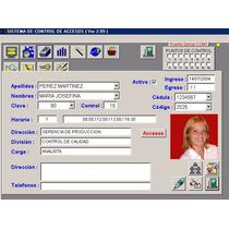 Sistema Control De Acceso Y Asistencia