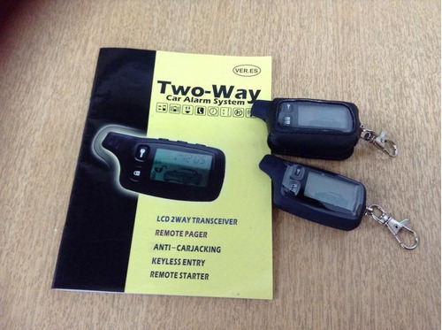 alarmas two way 2 beeper modelo tw-910