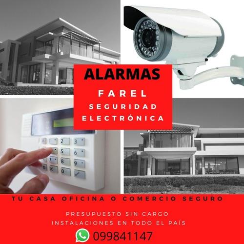 alarmas y camaras instalaciónes y manteniniento