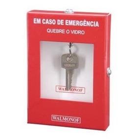 d08d31a94fa42 Caixa Quebra Vidro Guarda Chave Porta De Segurança Walmonof