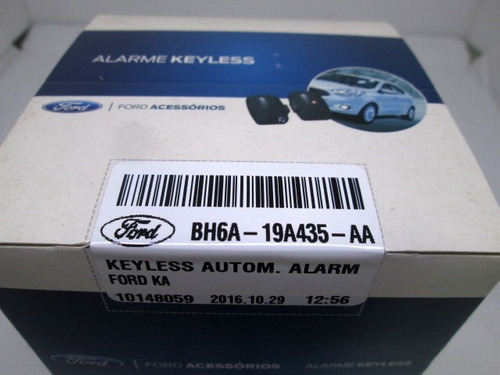 alarme anti-furto keyless - ford ka e ka+
