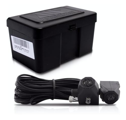 alarme automotivo amx-908 + bloqueador anti furto