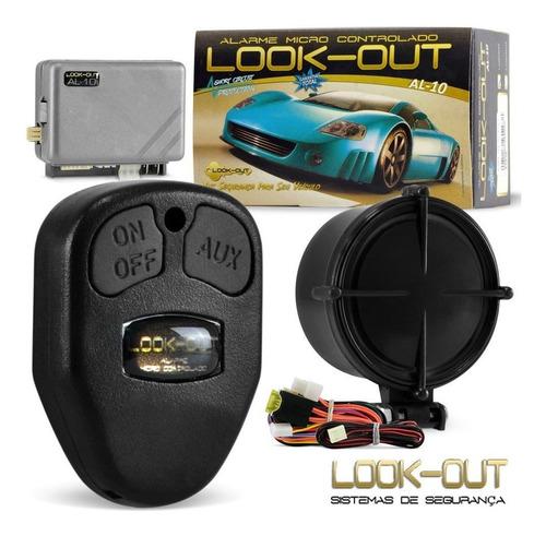 alarme automotivo  carro completo + trava elétrica 4 portas