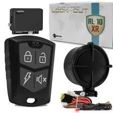 alarme automotivo  carro look al-10 2 controles remoto