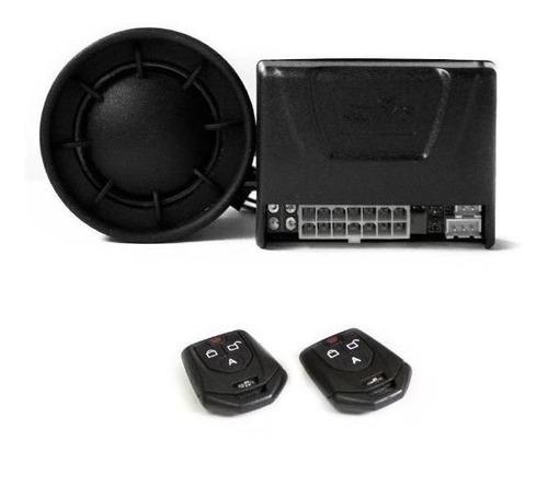 alarme automotivo fks fk902 plus c/ sirene - 2 controles