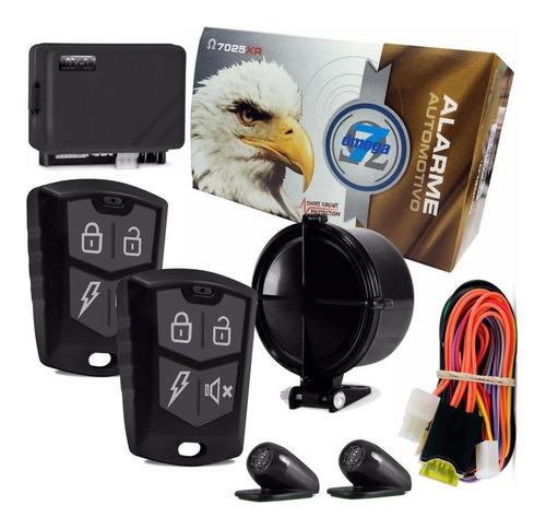 alarme automotivo look out omega 2 controles completo