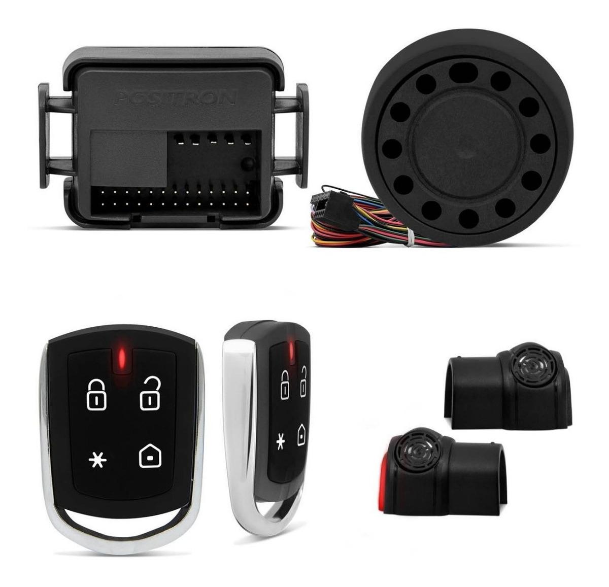 Alarme Automotivo Pósitron Px360bt Função Bluetooth Carro ...