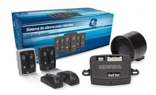 alarme automotivo s-lock k300 kostal - novo / reembalado