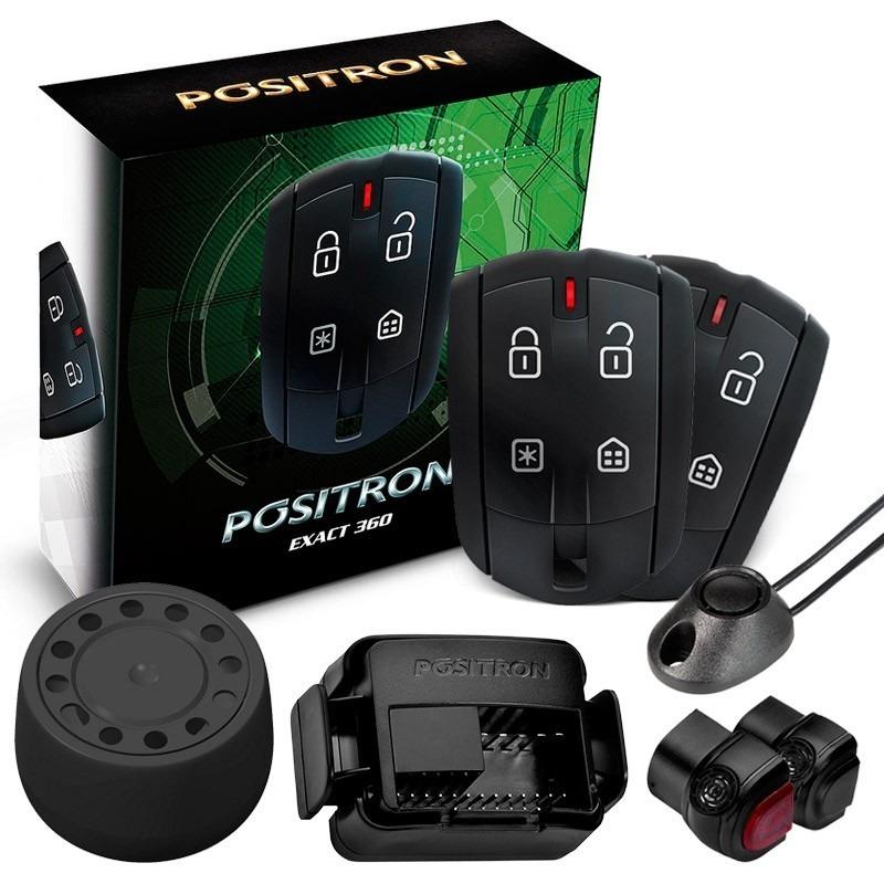 Alarme Carro Positron Automotivo Ex Exact 360 Cyber - R ...