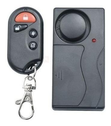 alarme chaveiro controle remoto anti vibração janela cofre