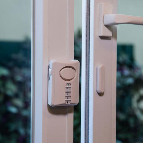alarme de porta general electric sem fio ativação por senha