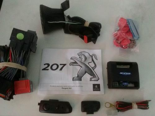 alarme original keyless para peugeot 207 plug in play