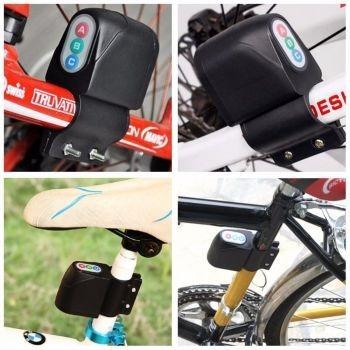 alarme para bicicleta bike com sensor de vibração com senha