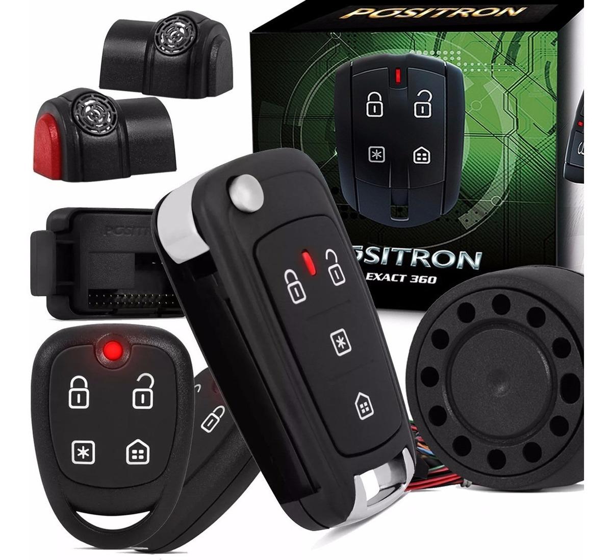 Alarme Positron Exact Ex360 + Chave Canivete Positron Px80 ...