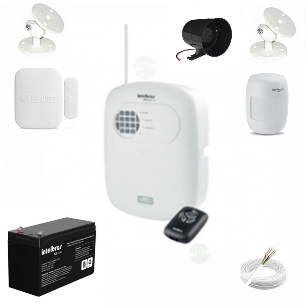 cc6e2f25c Kit Alarme Basico Segurança Residencial Casa Loja Comercial - R  478 ...