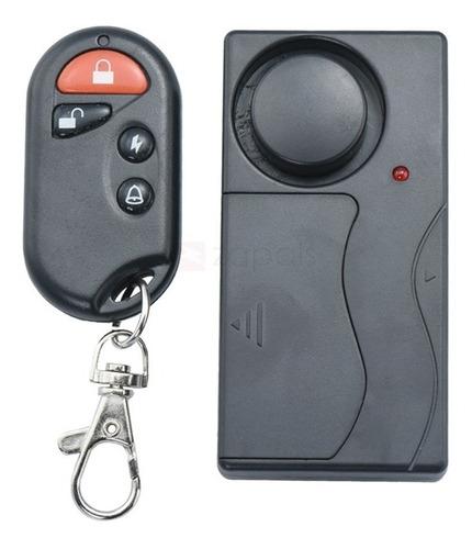 alarme sem fio com controle remoto anti vibração residencial
