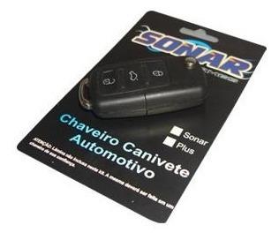 alarme sonar automotivo e chave canivete