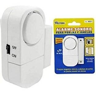 alarme sonoro para porta e janelas western-wd-1