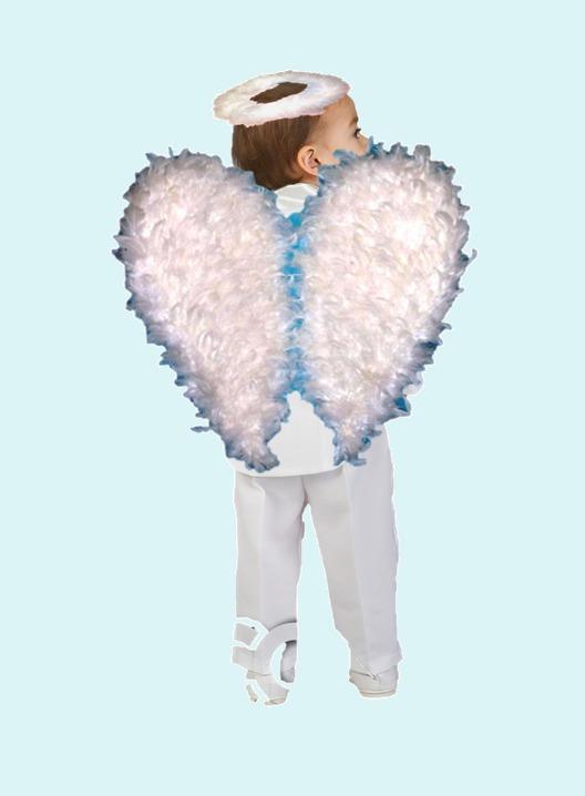 Alas de angel para disfraz pastorelas navidad infantil - Disfraces de angel para nina ...