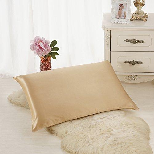 alaska bear - funda de almohada de seda natural, hipoalergén