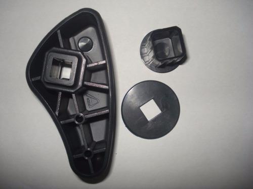 alavanca manopla do reclinador do renault clio/kamgoo- 1 par