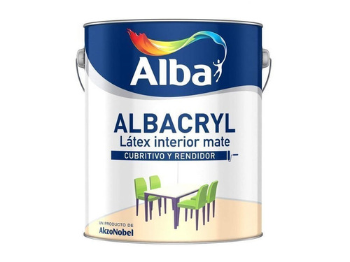 albacryl pintura latex interior blanco mate x 20 - sagitario
