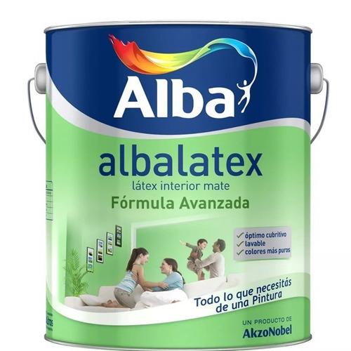 albalatex pintura latex interior 20 lts bco universo pinture